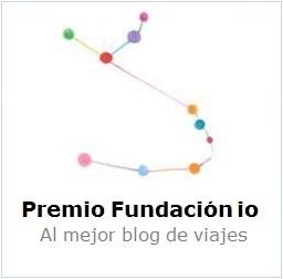 Premio Fundación io Mejor Blog de Viajes 2015