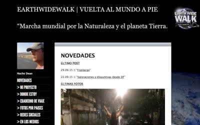 Earthwidewalk. Vuelta al mundo en pie